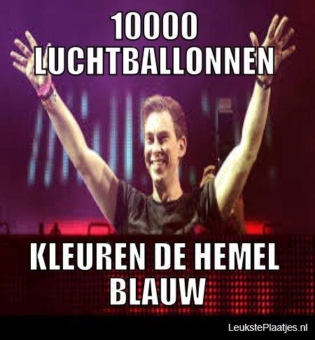 10000 luchtballonnen