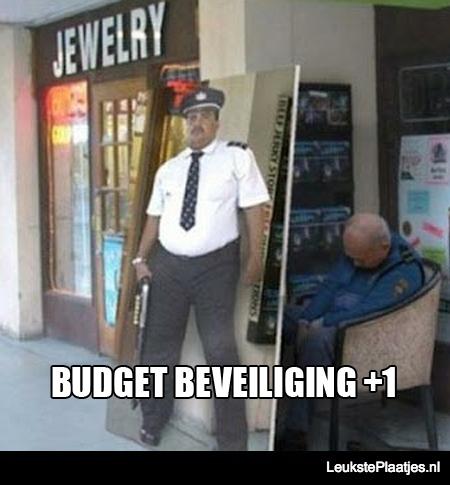 budget beveiliging
