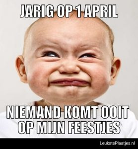 1 april jarig
