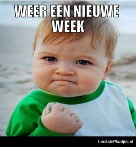nieuwe week