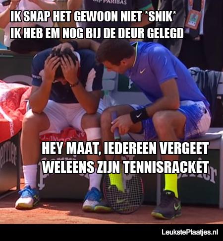 tennisracket-vergeten