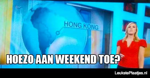 hoezo aan weekend toe cnn