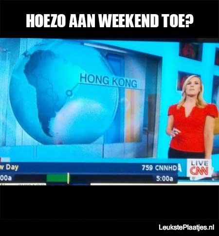hoezo aan weekend toe cnn