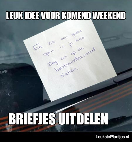 Briefjes